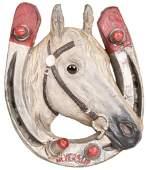 Neverslip (horse shoes) Paper-Mache Sign