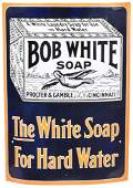 Proctor & Gamble Bob White Soap Curved Sign