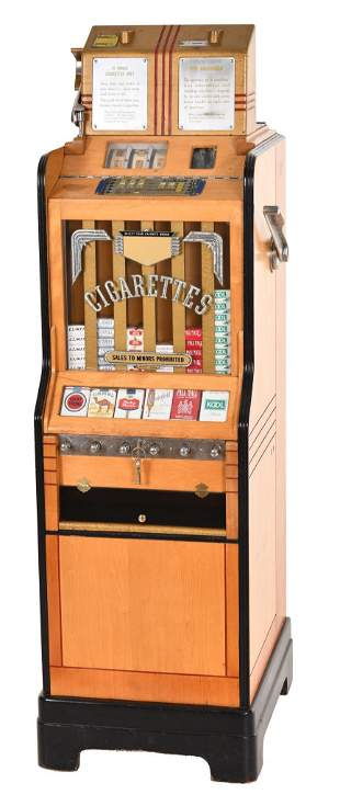 Jennings Ciga-Rolla Floor Model Slot Machine/Trade
