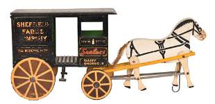 Rich Toy Sheffield Farms CO. Dairy Products Wagon