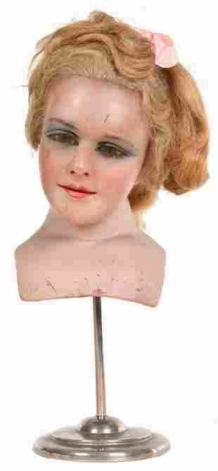 Lady's Wax Bust
