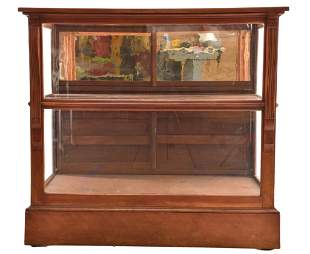 Country Store Floor Model Tobacco Display Case