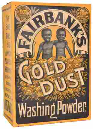 Fairbanks Gold Dust Washing Powder Store Display Box
