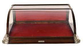 Nice Curve Glass Front Counter Top Show Case