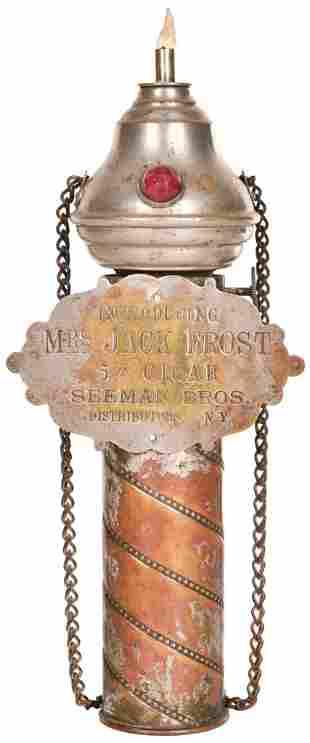 Mrs. Jack Frost Cigar Lighter