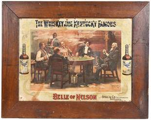 """Belle of Nelson """"The Whiskey that made Kentucky Famous"""""""