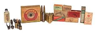Box lot of Gun Related Items