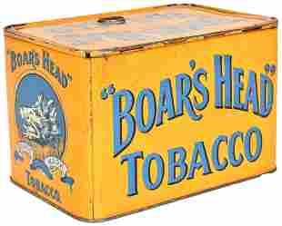 Boar's Head Tobacco Store Bin