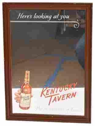 Kentucky Tavern Bourbon Advertising Mirror