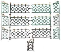 3-Kenton Ornate Cast Iron fencing sets