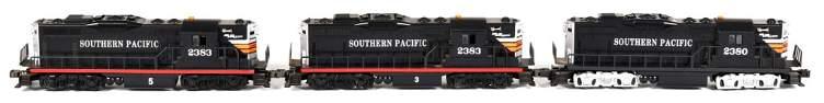 3-O Gauge Southern Pacific Diesel Engines