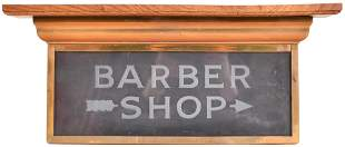 Barber Shop Canopy Sign