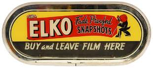 Elko Fade Proofed Snapshots Lighted Counter-Top Sign