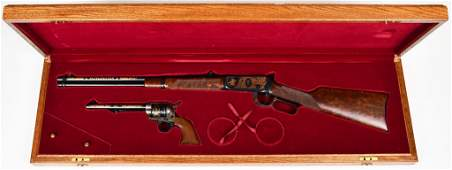 Winchester Colt Commemorative set .44-40 1894 and SAA