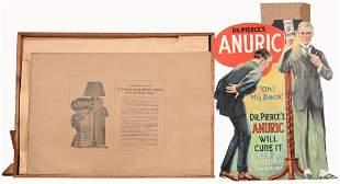 Dr. Pierce's Anuric Cardboard Counter-Top Display
