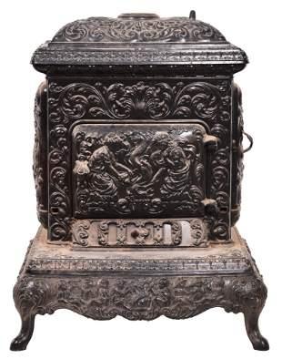 Portland Ornate Cast Iron Stove
