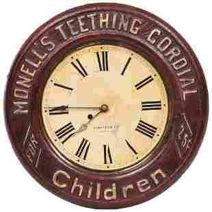 Monell's Teething Cordial For Children Round Clock