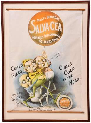 """Salva-Cea """"The Brownies are After It"""" Framed Poster"""