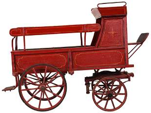 Goat or Dog Child's Buck Board Wagon