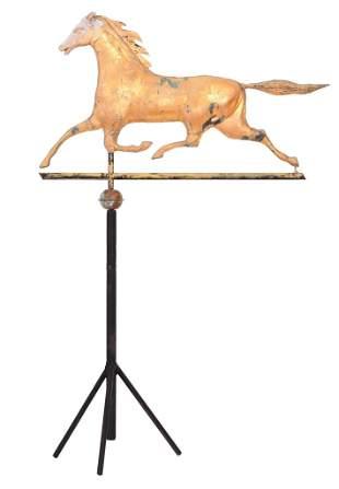Large Running Horse Weathervane Animal