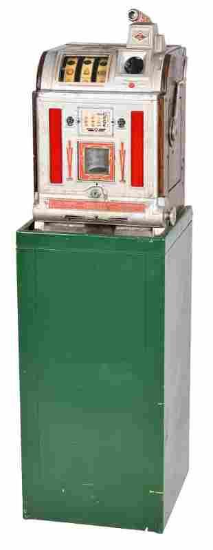 Jennings 5 Cent Victoria Slot Machine With Vendor