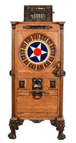 "Mills Dewey ""The Dewey"" 5 Cent Upright Slot Machine"