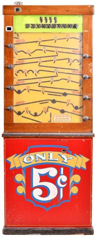 Ballay 5 Cent Coin Slot Arcade Game