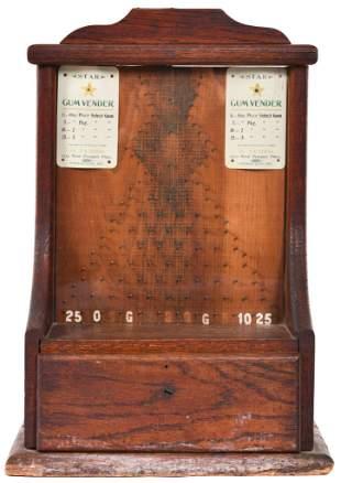 Wooden Coin Flip Trade Stimulator