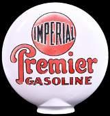 Imperial Premier Gasoline OPE Milk Glass Globe