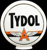 "Tydol w/Orange Flying A Logo 13.5""D. Globe Lenses"