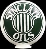 Sinclair Oils OPE Milk Glass Globe