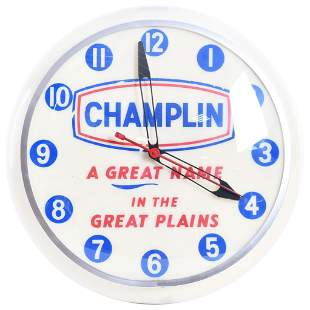 """Champlin """"A Great Name in the Great Plains"""" Lighted"""