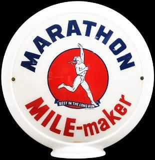 """Marathon Mile-Maker w/Runner 13.5"""" Globe Lenses"""