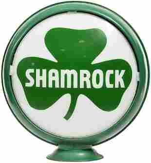 """Shamrock w/Logo 15""""D. Globe Lenses"""