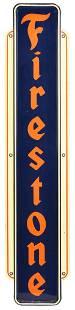 Firestone Vertical Sign