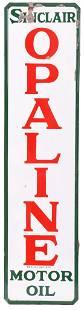 Sinclair Opaline Motor Oils Porcelain Sign