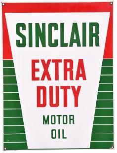 Sinclair Extra Duty Motor Oil Porcelain Sign