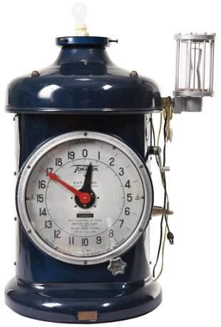 Tokheim Model #850 Clock Face Gas Pump Top Only