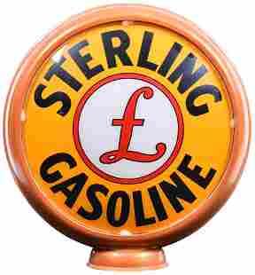 """Sterling Gasoline w/Logo 15""""D., Globe Lenses"""