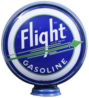 "Flight Gasoline w/Green Arrow 15""D., Globe Lenses"