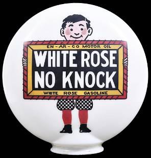 White Rose No Knock w/boy & Slate Logo OPB Milk