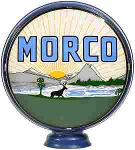 """Morco w/Mountain & Wildlife Scene 15""""D. Single"""