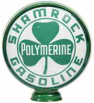 "Shamrock Polymerine Gasoline 15""D. Globe Lenses"