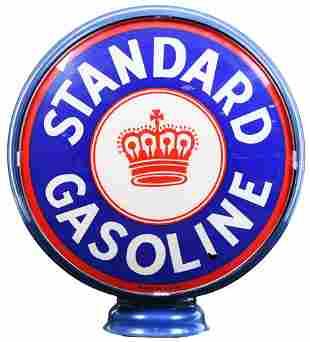 "Standard Gasoline 15""D., Single Globe Lens"