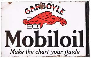 "Mobiloil w/Gargoyle Logo ""Make the Chart Your Guide"""
