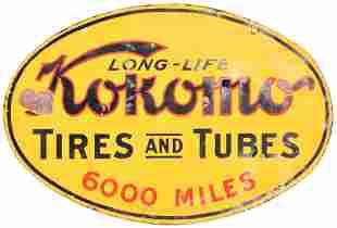 "Long Life Kokomo Tires & Tubes ""6000 Miles"""