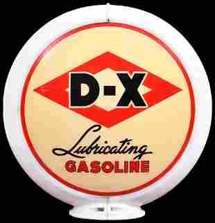 "D-X Lubricating Gasoline 13.5"" Globe Lenses"