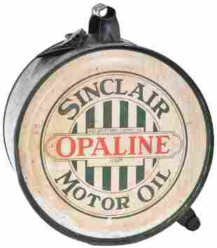 Sinclair Opaline Motor Oil Five-Gallon Rocker Can