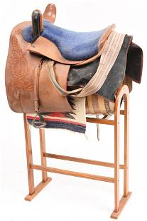 Circa 1890s-1900 Side Saddle