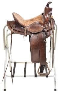 Circa 1930s-40s Herman Heiser Saddle
